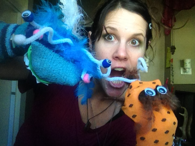 Puppets on the move a whole new holistic creative movement class designed for all ages any level